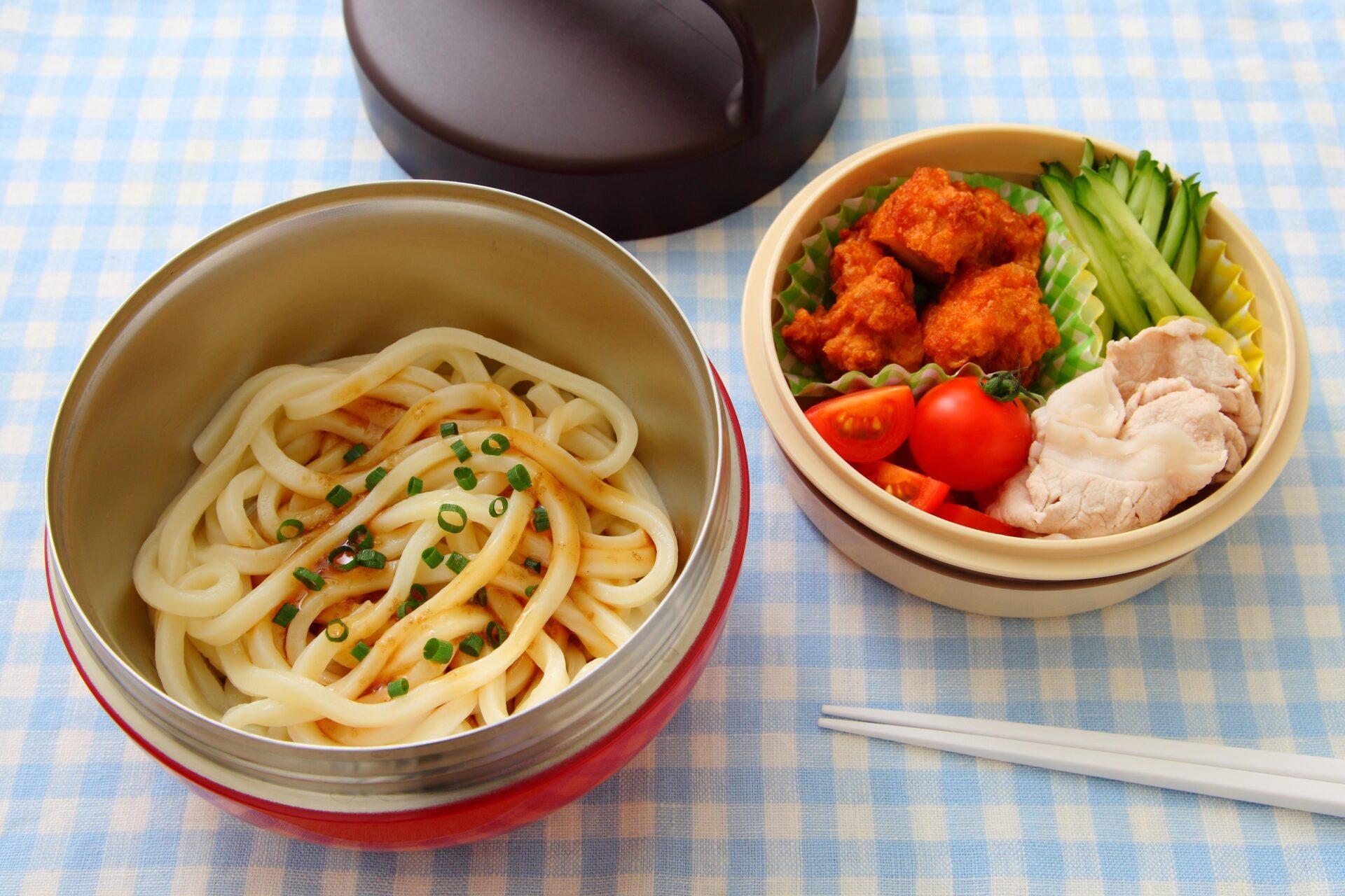 うどんや素麺、冷やし中華など、麺類はどんなお弁当箱に入れていますか?