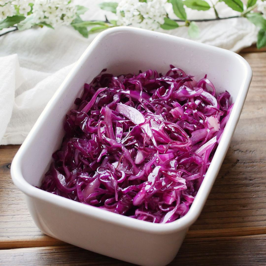 紫キャベツレシピ